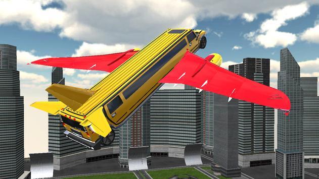 Flying Hummer Simulation poster