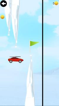 flying helicopter car poster