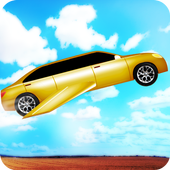 flying limo car game icon