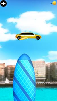 flying limo car game poster