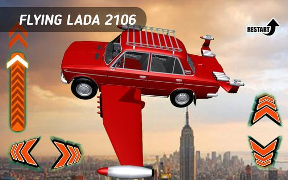 Flying Car Lada 2106 apk screenshot