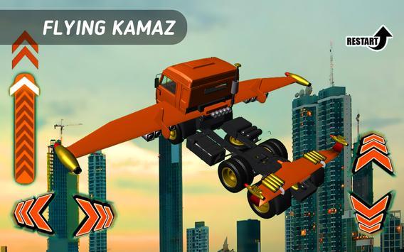 Flying Truck Kamaz apk screenshot