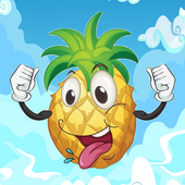 Flying Pineapple Game icon