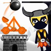 Stickman Destruction Catapult icon