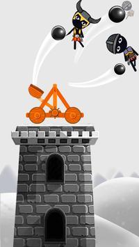 Stickman Destruction Catapult poster