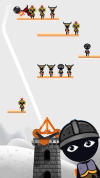 Stickman Destruction Catapult screenshot 10
