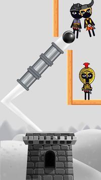 Stickman Destruction Catapult screenshot 2