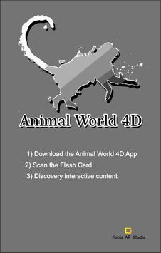 Animal World 4D Poster