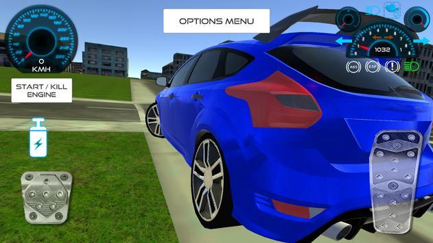 Focus Drift Simulation apk screenshot