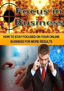 Focus In Business poster