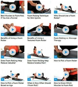 Foam Roller Exercices screenshot 2