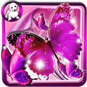 Glitter Butterfly Wallpaper icon