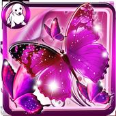 Glitter Butterfly Wallpaper icon