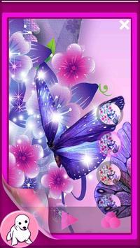 Glitter Butterfly Wallpaper screenshot 3