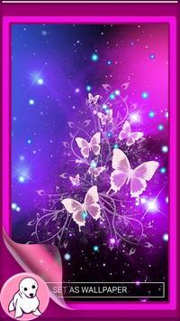 Glitter Butterfly Wallpaper screenshot 1