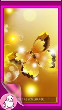 Glitter Butterfly Wallpaper screenshot 4