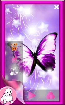 Glitter Butterfly Wallpaper screenshot 5
