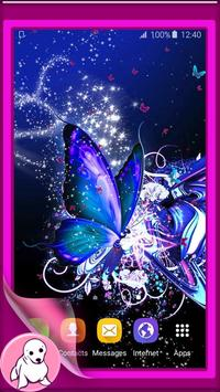 Glitter Butterfly Wallpaper apk screenshot