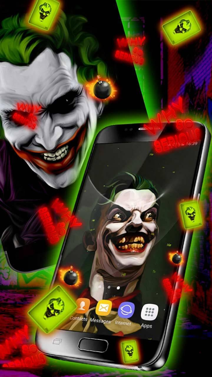 Joker Live Wallpaper HD For Android APK Download