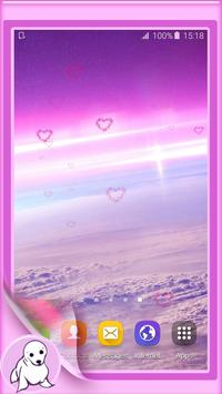 Pink Sky Live Wallpaper poster