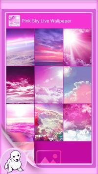 Pink Sky Live Wallpaper screenshot 2