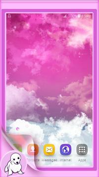 Pink Sky Live Wallpaper screenshot 4