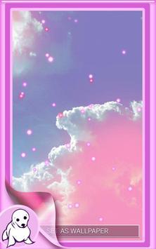 Pink Sky Live Wallpaper screenshot 5