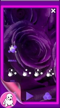 Purple Rose Live Wallpaper screenshot 4
