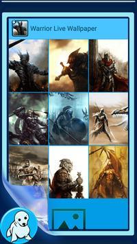 Warrior Live Wallpaper screenshot 2