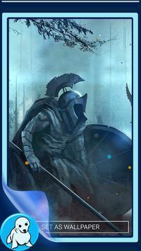 Warrior Live Wallpaper screenshot 3