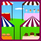 food market games icon
