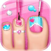 Foot Spa Game – Toe Nail Salon icon