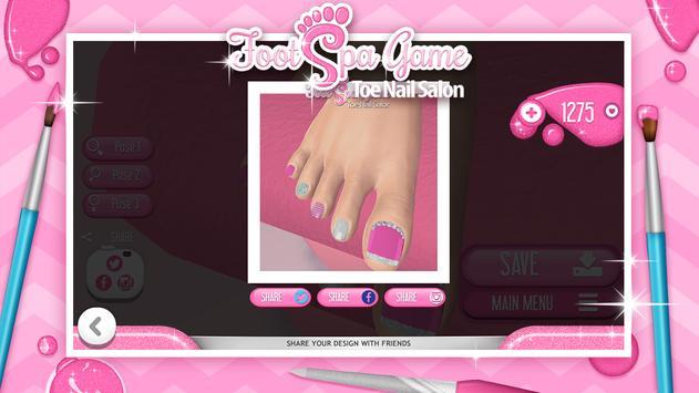 Foot Spa Game – Toe Nail Salon apk screenshot