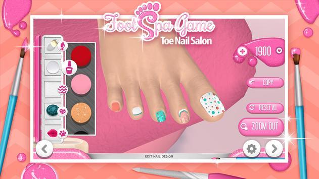 Foot Spa Game – Toe Nail Salon screenshot 5