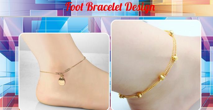 Foot Bracelet Design poster