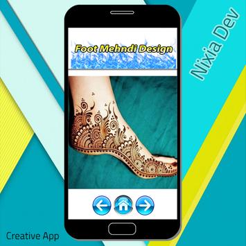 Foot Mehndi Design screenshot 3