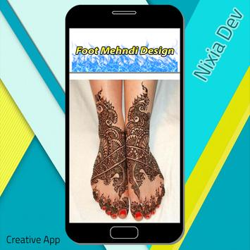 Foot Mehndi Design screenshot 6