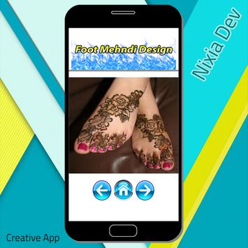Foot Mehndi Design screenshot 7