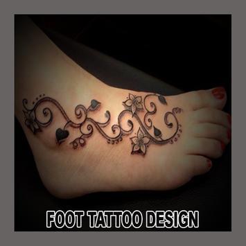 Foot Tattoo Design apk screenshot