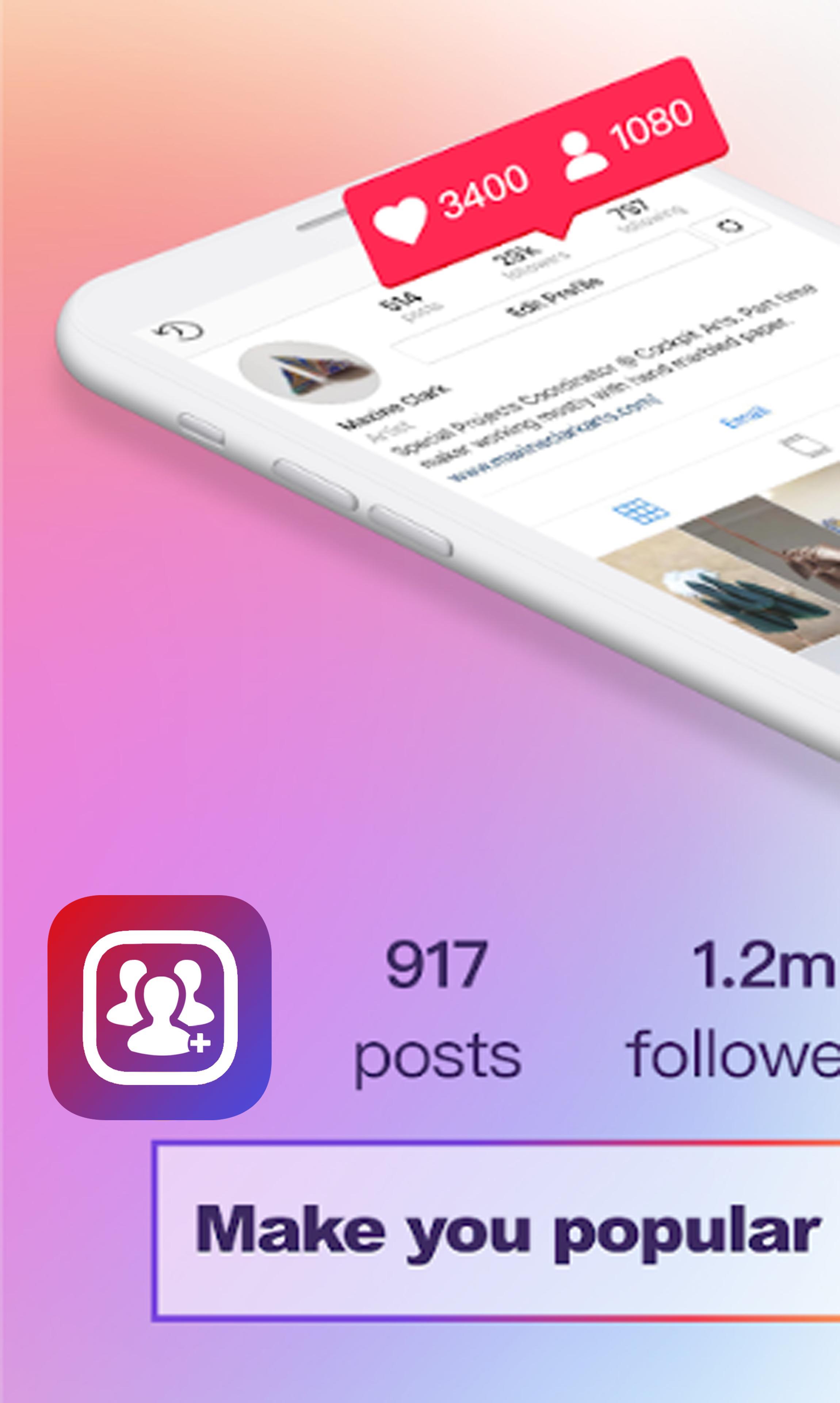 Followers For Instagram Apk 2018 - Norlako 6655 la