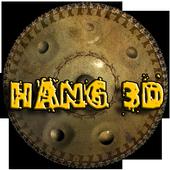 Hang 3D icon