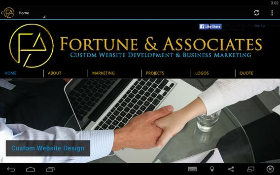 Fortune and Associates 截图 1