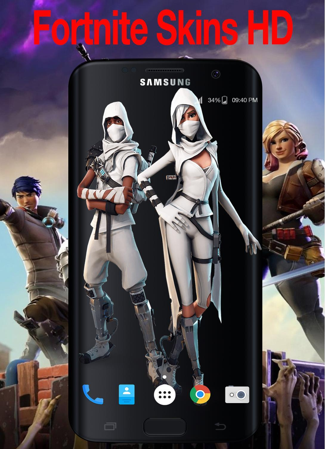 Fortnite Skins Wallpaper Free For Android Apk Download