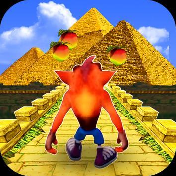 Adventure Crash In Temple Pyramid poster