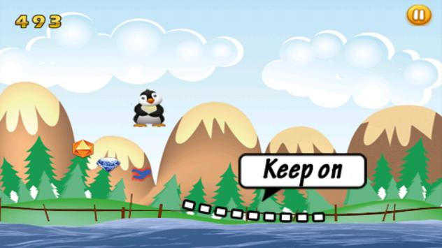 Flying Penguin Adventure apk screenshot