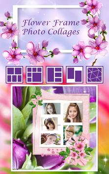 Flower Frame Photo Collages poster
