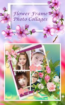 Flower Frame Photo Collages apk screenshot