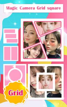 Magic Camera Grid Collage poster