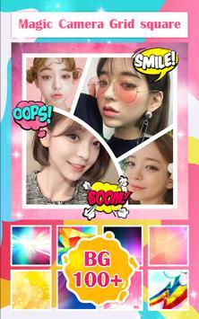 Magic Camera Grid Collage screenshot 1