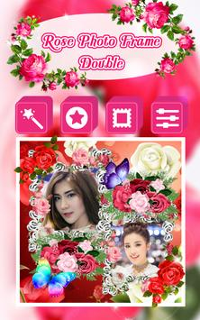 Rose Photo Frame Double poster